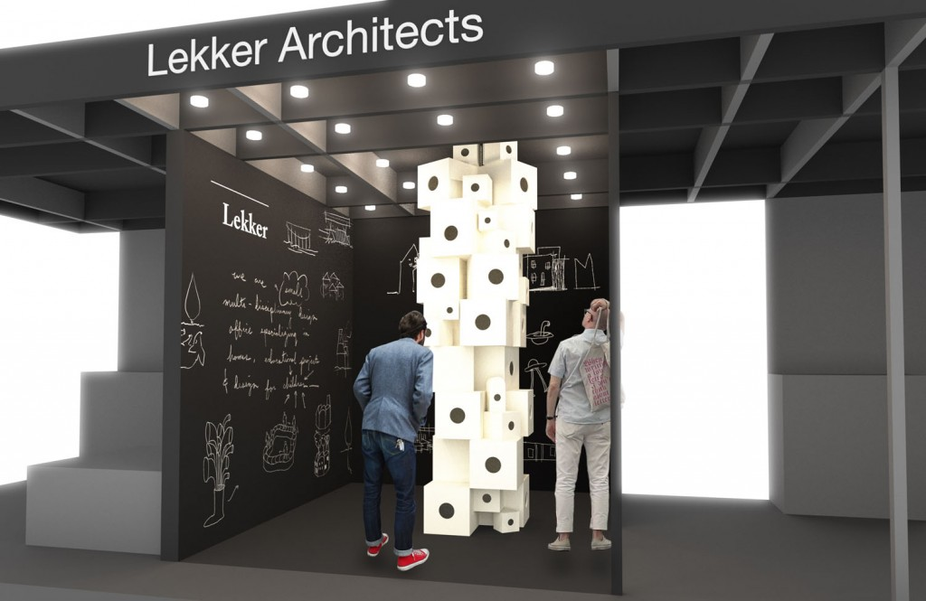 Lekker Architects at M&O ASIA 2016_Image courtesy of Lekker Architects
