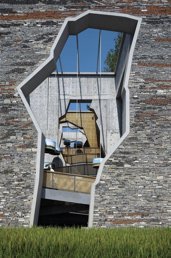 Ningbo Tengtou Pavilion archdaily