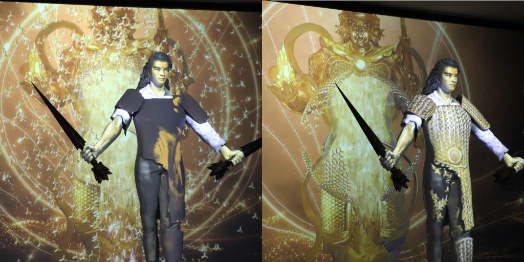 阿鼻劍,3D,光雕,數位,動畫,鄭問