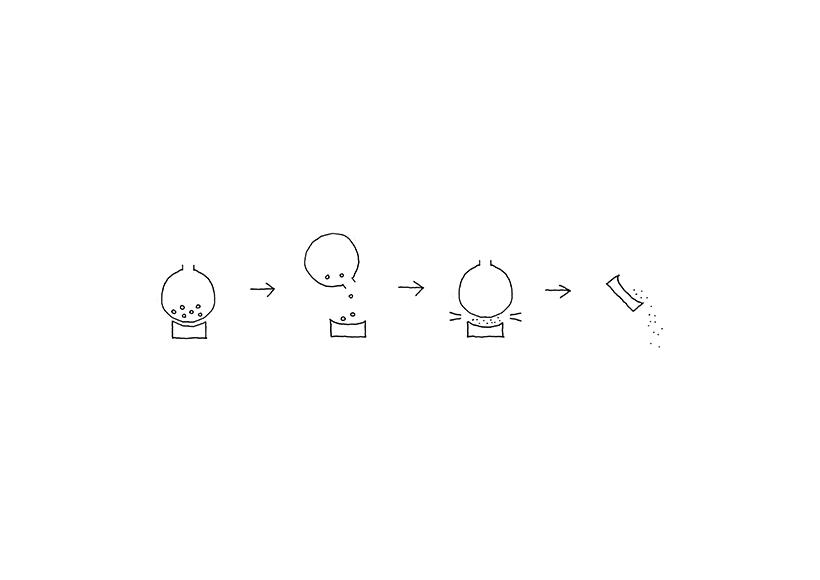 nendo設計胡椒研磨罐