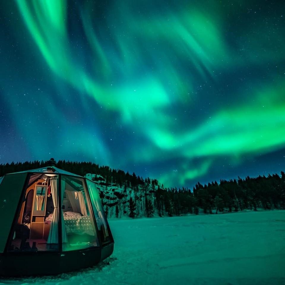 北極,極光,冰屋酒店,瘋設計,極限旅行
