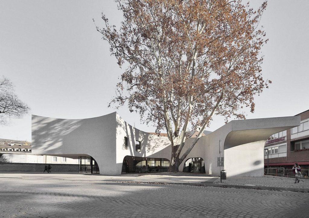 當代建築,有機建築,水泥建築,MoDus Architects,場域精神,中庭,瘋設計