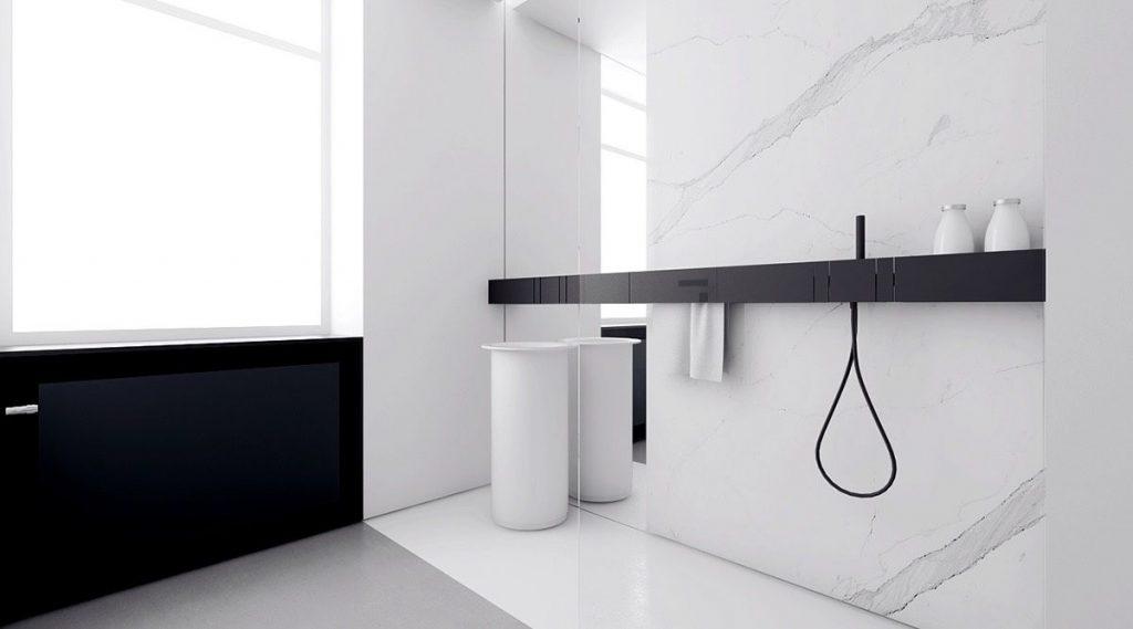 衛浴,minimalist,極簡主義,美學