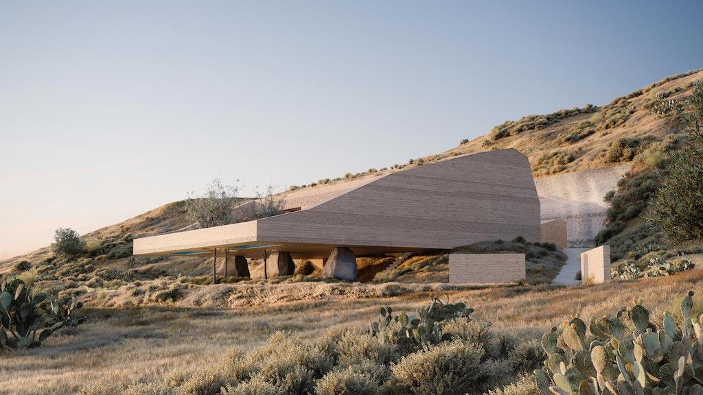 一張含有 室外, 草, 山, 建築物 的圖片  自動產生的描述